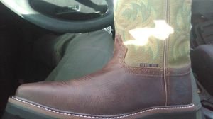 Justin work boots new never used for Sale in Vallejo, CA