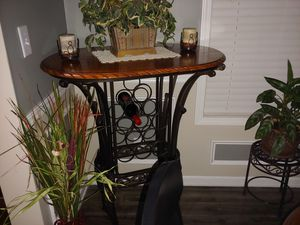 Bistro Table with wine rack for Sale in Graham, NC