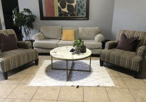 Living Room Set Couch with Two Chairs for Sale in Friendswood, TX