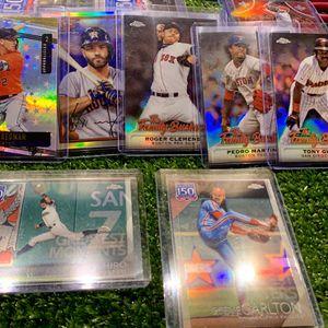 Baseball Cards. Astros Altuve Bregman Ichiro Tony Gwynn Roger Clemens Topps 150 for Sale in Emmaus, PA