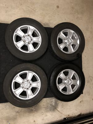 *GREAT CONDITION* TUNDRA WHEELS AND TIRES for Sale in Graham, WA