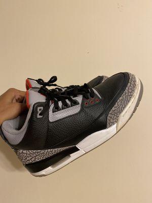 Jordan black cement 3s size 11 for Sale in Lawrenceville, GA