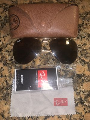 Ray Ban aviator large sunglasses for Sale in Modesto, CA