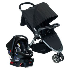 Britax stroller with car seat and base! for Sale in Mountain View, CA