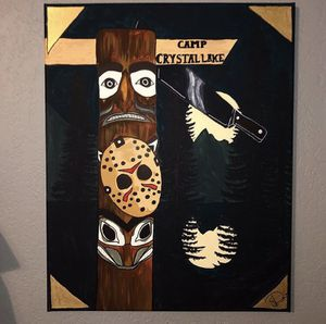 Friday the 13th painting for Sale in Fresno, CA