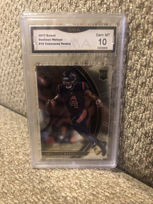 2017 select Deshaun Watson concourse rookie graded 10 for Sale in Cranberry Township, PA