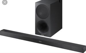 Samsung Audio player and sound bar . for Sale in Davenport, IA