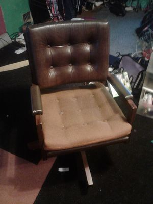 Brown computer/office chair for Sale in Evansville, IN