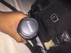 Canon 55-250mm lens for Sale in Las Vegas, NV
