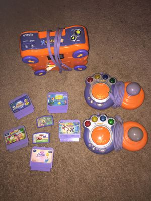 Kids V-tech Interactive Learning Game Console for Sale in Orlando, FL