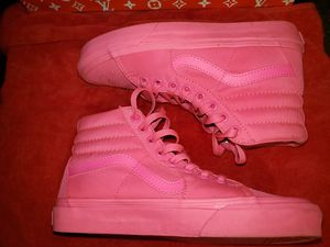 Vans high pink shoes for Sale in Orland Park, IL