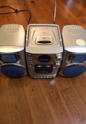 Cd radio player music for Sale in Houston, TX