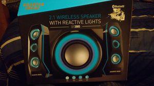 Sharper image 2.1 wireless speaker for Sale in Show Low, AZ