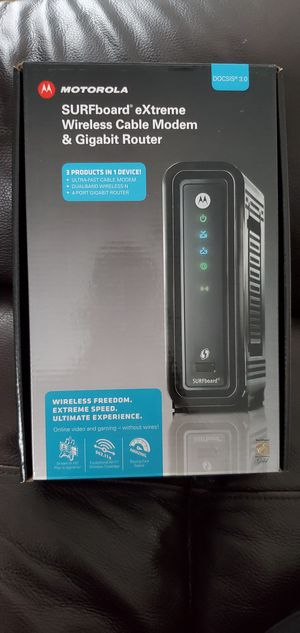 Motorola modem+router for Sale in Rolling Meadows, IL