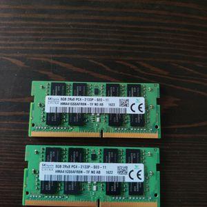 16GB DDR4 2133MHz for Sale in San Diego, CA