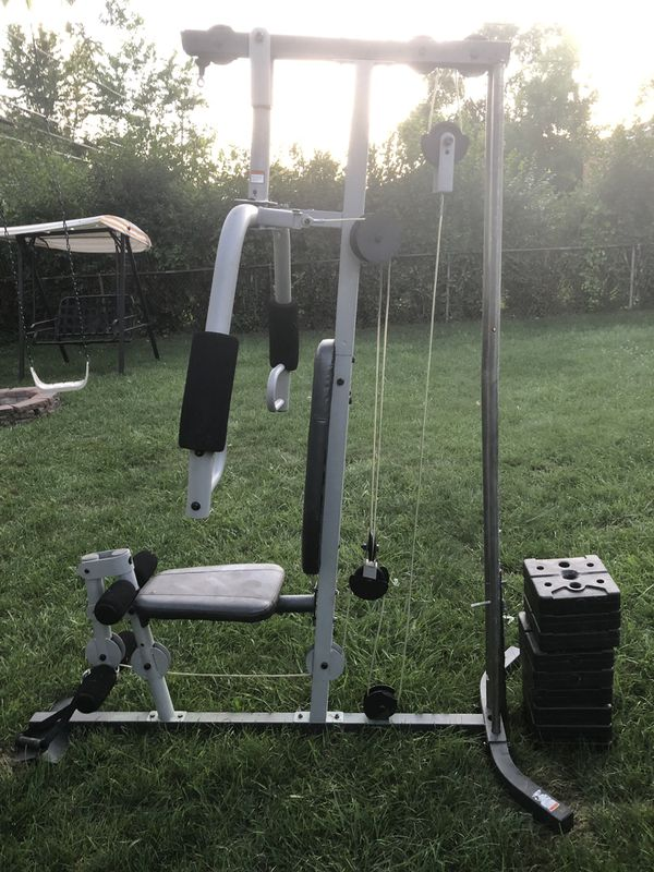 Exercise/home gym/lifting