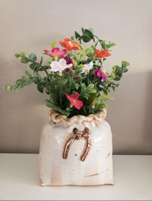 Handmade ceramic plant pot for Sale in Annandale, VA