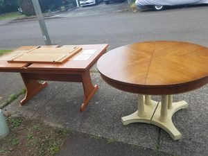 Two free dining tables come get them now for Sale in Vancouver, WA