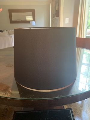 Black Lamp Shape for Sale in Douglasville, GA