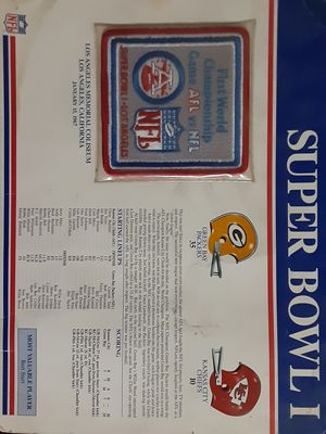 first super bowl logo 1967 for Sale in Fontana, CA