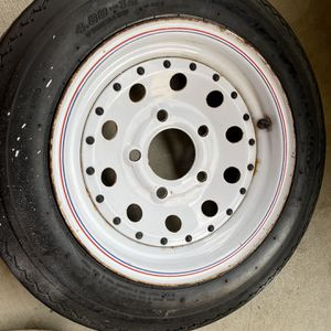 Trailer tire 4.80-12 With Duro Tire Tubeless for Sale in Orange, CA