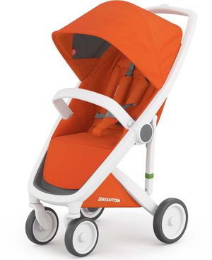 Greentom Classic Stroller - Orange with White Frame - Brand New in the Box! for Sale in Poinciana, FL