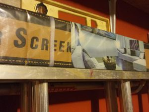 "72"" 3D HD projector screen for Sale in Powder Springs, GA"