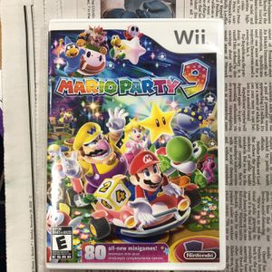 WII Mario party9 brand new game —UNopened /still in factory sealed packaging for Sale in Wheaton, IL