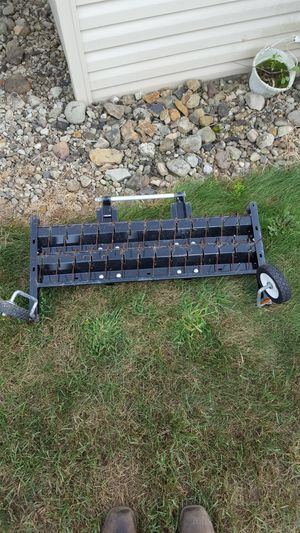 Lawn tine dethatcher for front of mower for Sale in Butler, PA