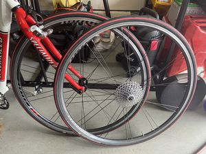 Road bike rims with new tubes and tires 700 for Sale in Dumfries, VA