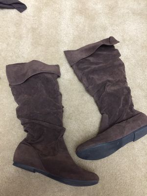 Brown boots size 9 for Sale in Laveen Village, AZ