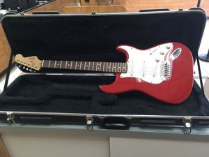 Squier bullet strat guitar made in China for Sale in La Puente, CA