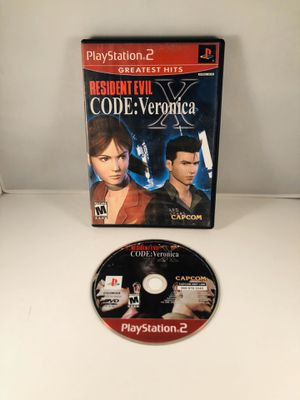 Resident evil code Veronica x PlayStation 2 for Sale in Long Beach, CA