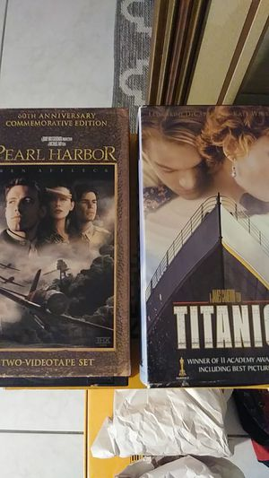 2 double VHS Classic Movies for Sale in Port St. Lucie, FL