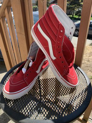 Red hightop vans for Sale in Seattle, WA