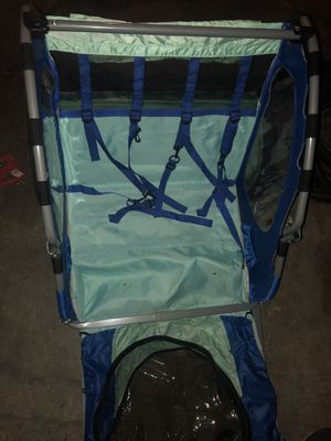 Bike trailer in excellent condition with 2 seats for Sale in San Jose, CA