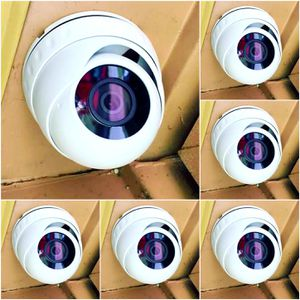 6 1080p Security cameras with DVR recorder and labor included.. hablo espanol for Sale in Cedar Hill, TX