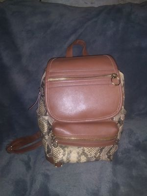 Snake Skin Mini backpack purse for Sale in St. Louis, MO