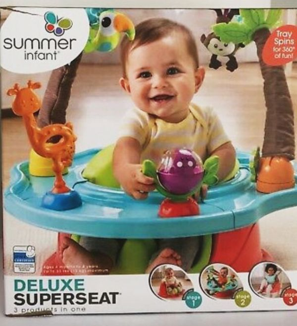 Baby summer infant play seat NEW