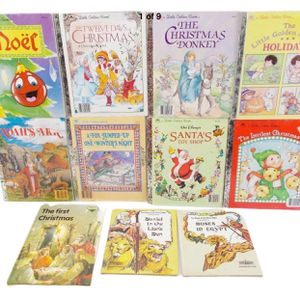 Golden Books Christmas Lot Of 11 for Sale in Naperville, IL
