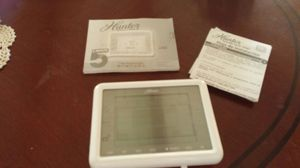 Hunter programmable thermostat touch screen for Sale in Greensboro, NC