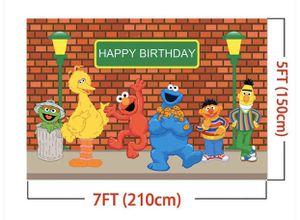 Sesame Street birthday wall backdrop for Sale in Boston, MA