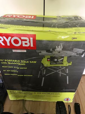 Ryobi table saw for Sale in Austin, TX
