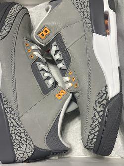 Men's Size 9.5 - Nike Air Jordan 3 Retro Cool Grey 2021 CT8532-012 for Sale in Orlando, FL