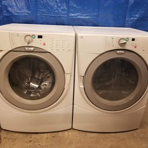 Maytag Washer And Electric Dryer Set Good Working Condition Set For $399 for Sale in Wheat Ridge, CO
