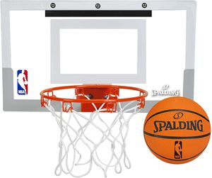Spalding NBA Slam Jam Over-The-Door Mini Basketball Hoop for Sale in Bronx, NY