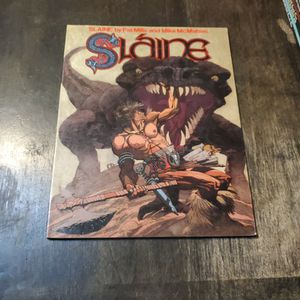 Slaine Book One 1986 Titan Books First Print UK England, Rare Oversized Trade Paperback Graphic Novel for Sale in Fresno, CA