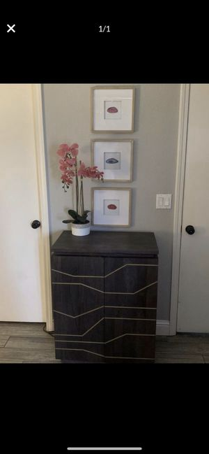 "Modern side console table or bar from ""CB2"" for Sale in Stockton, CA"