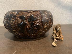 Asian Art Vase for Sale in Roseville, CA