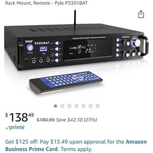 *Brand New* Wireless Bluetooth Home Stereo Amplifier for Sale in El Mirage, AZ